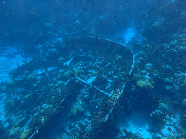 sunken ship in Bermuda