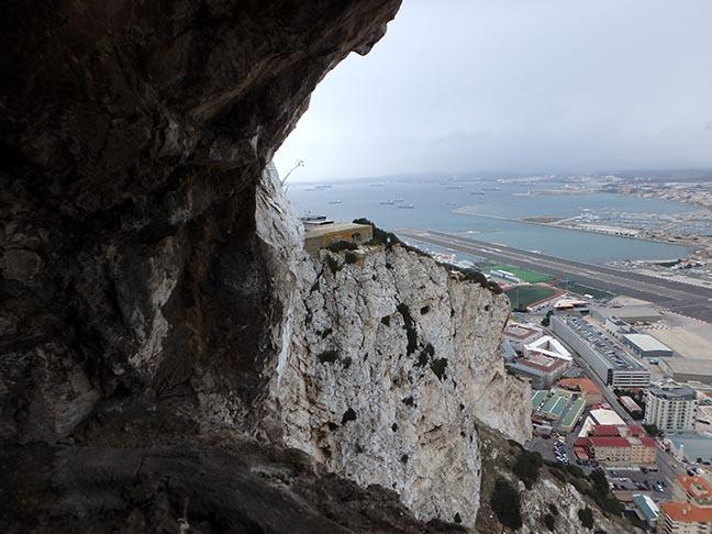 siege tunnel view