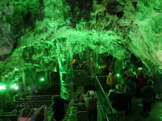 cave in Gibraltar