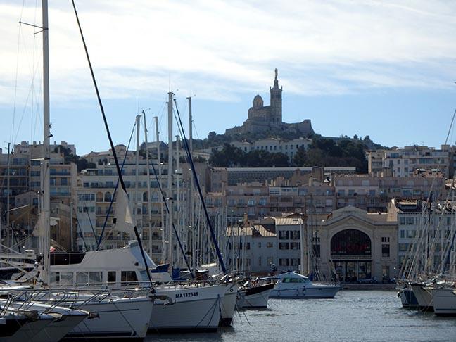 marina in Marseilles