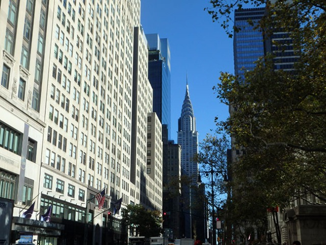 New York's Chrysler Building