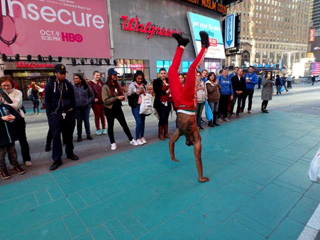 New York street performers