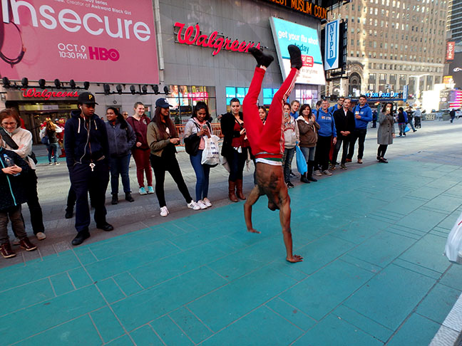 New York street performers