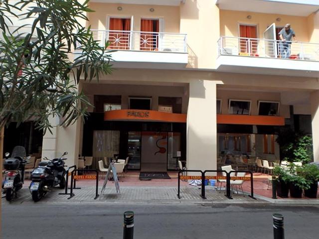 Faros hotel in Greece