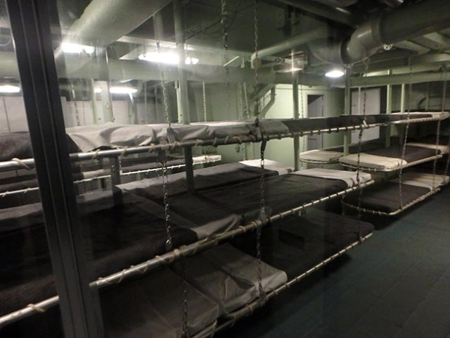 Intrepid bunk room