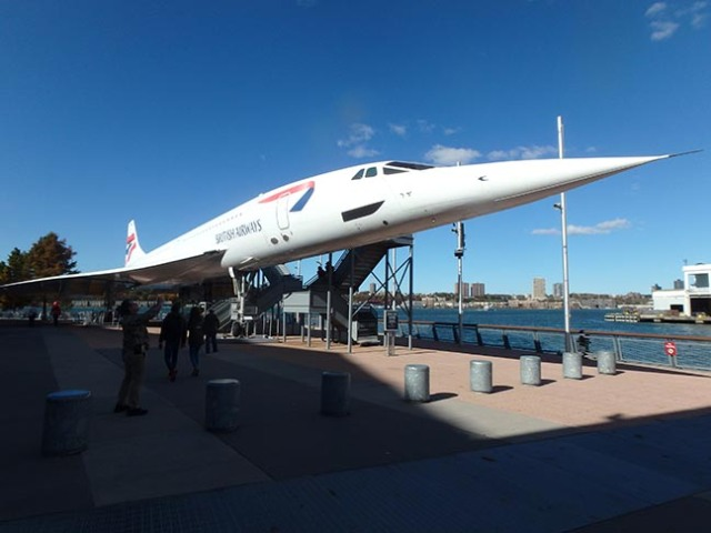 concorde at the Intrepid Museum