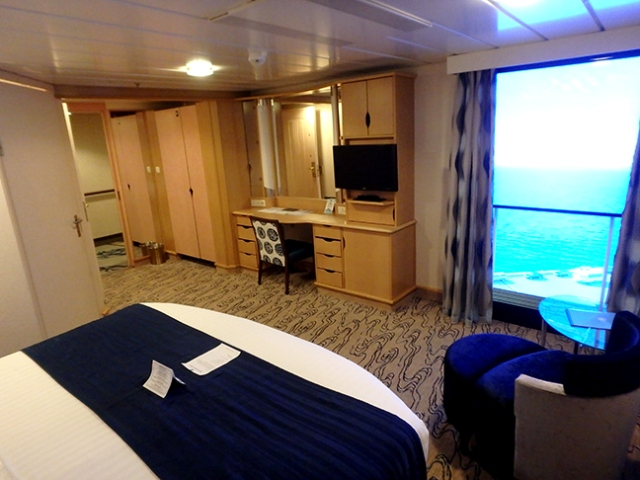 accessible cruise ship cabin
