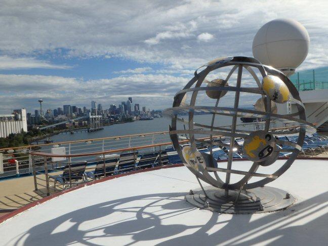 cruise ship artwork
