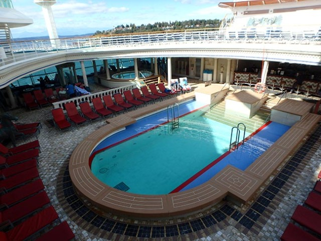 adults only cruise ship pool