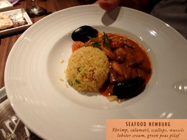 sea food on the sea