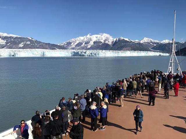 glacier watching