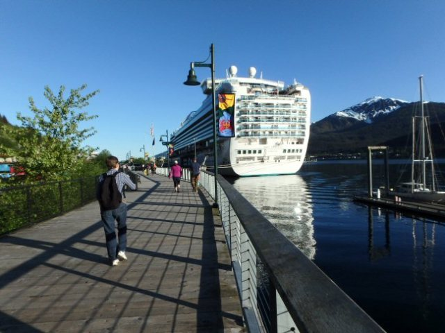 Princess dock, Juneau