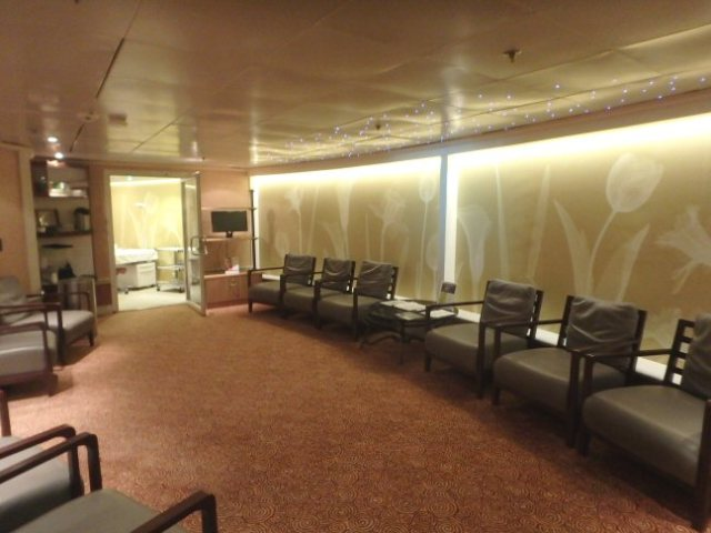 spa waiting room