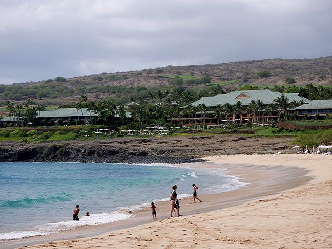 Lanai island in Hawaii