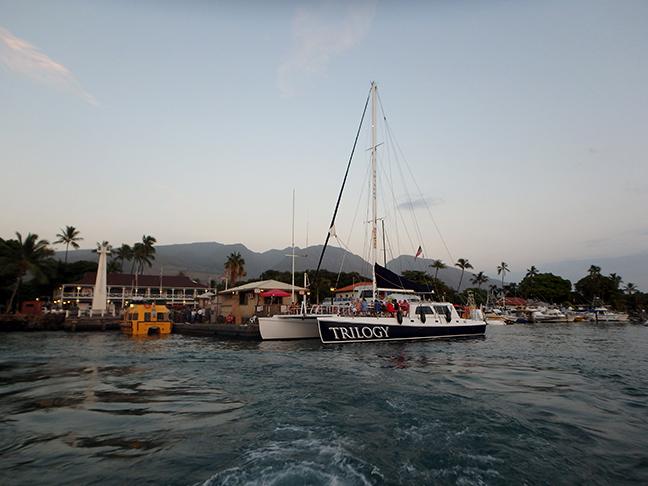 Trilogy catamaran