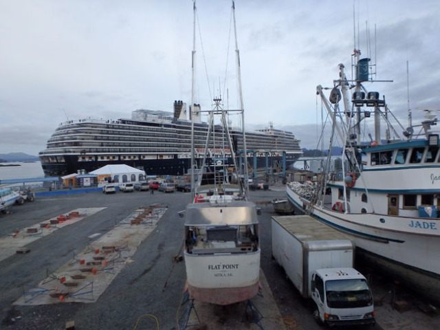 Sitka cruise ship dock
