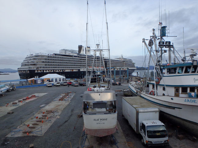 Sitka cruise ship dock