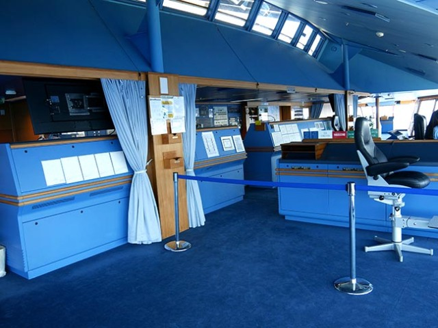 cruise ship bridge