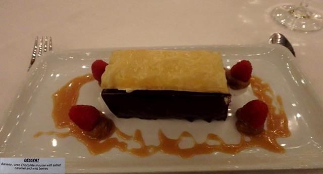 captain's table dessert