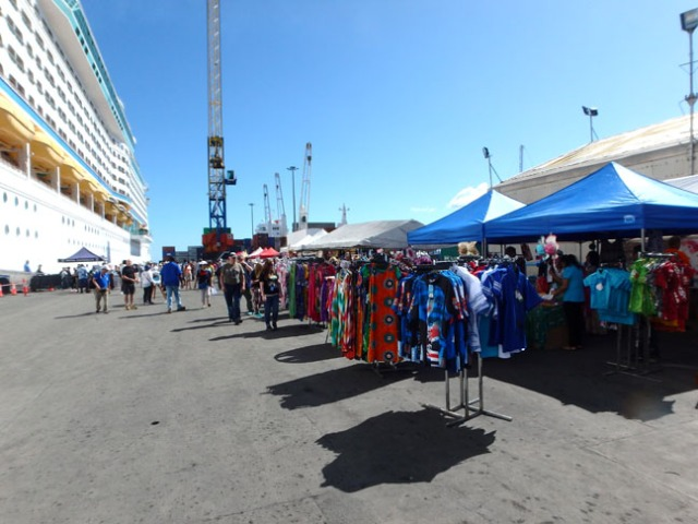 Lautoka cruise ship dock