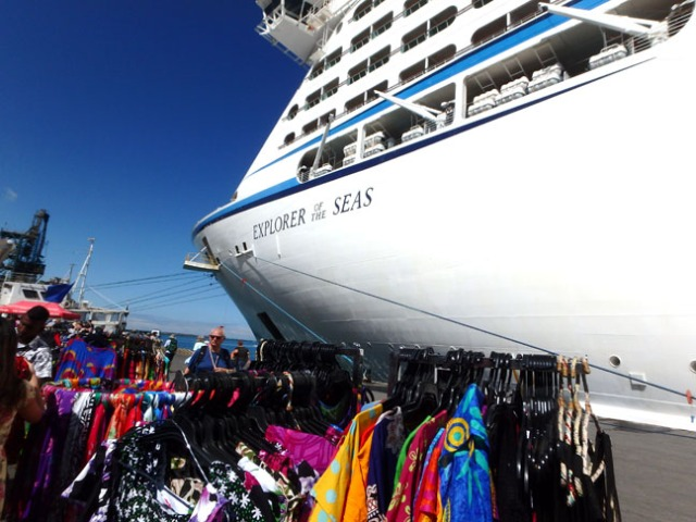 Lautoka Fiji cruise ship dock