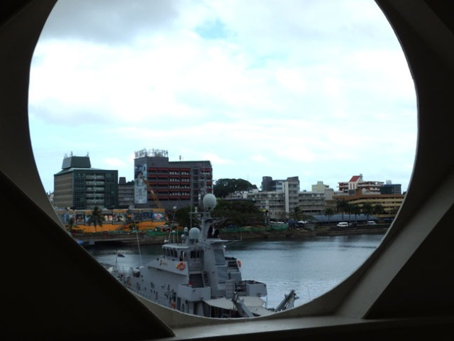 ship view of Suva