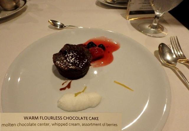cruise ship desserts