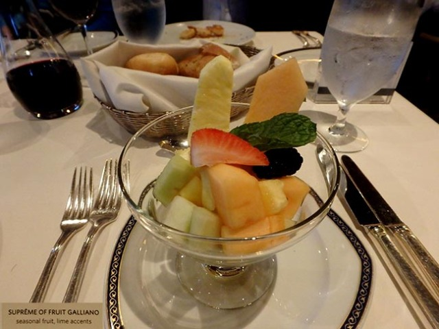 fruit appetizer