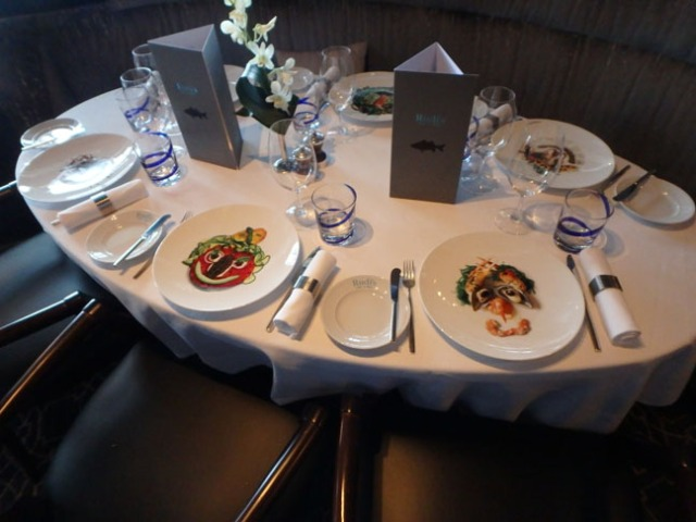 decorative cruise ship plates