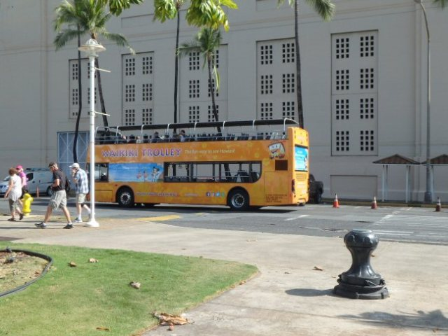 Honolulu bus tour
