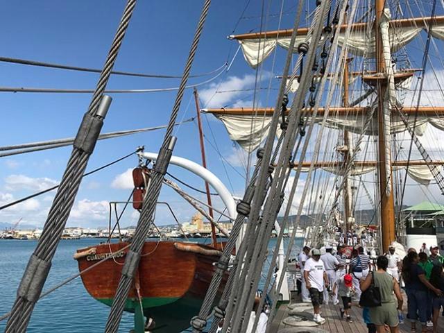 touring a sailboat