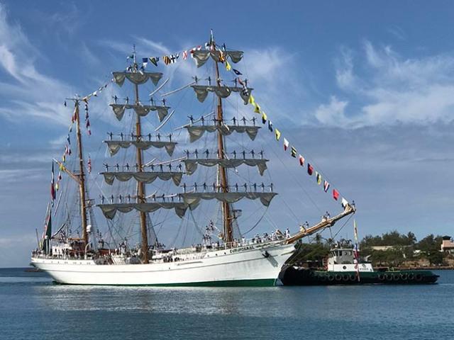 sailboat in Honolulu
