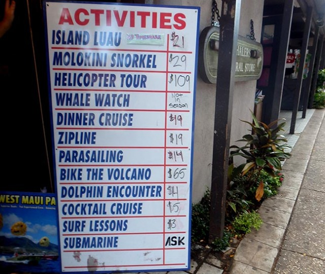 things to do in Lahaina