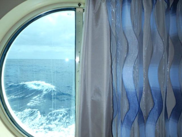 ocean view cabin