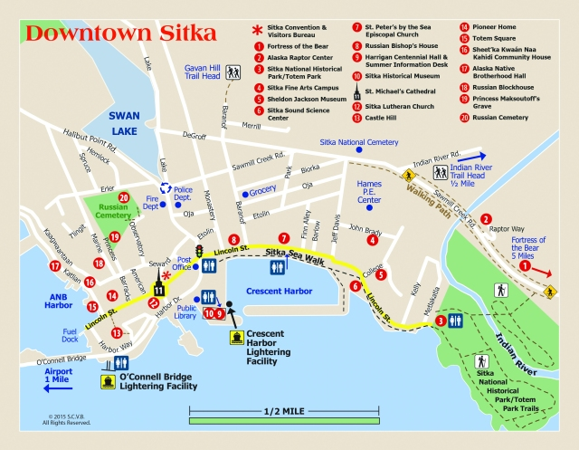 map of sitka