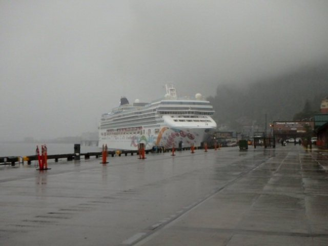 Norwegian Pearl in Ketchikan
