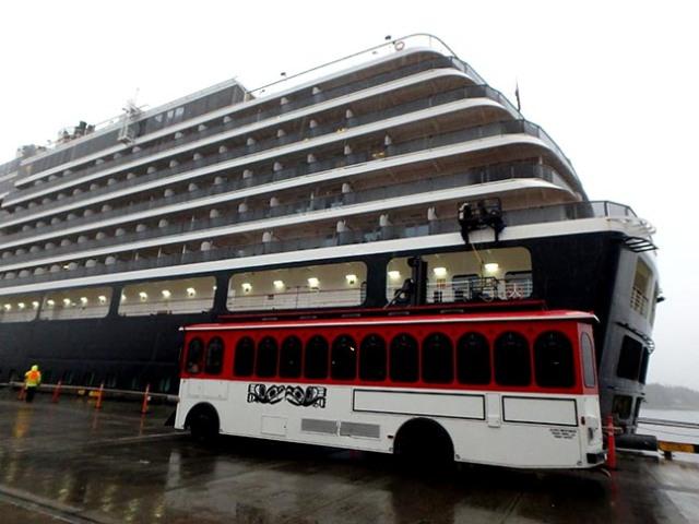 Ketchikan cruise ship dock