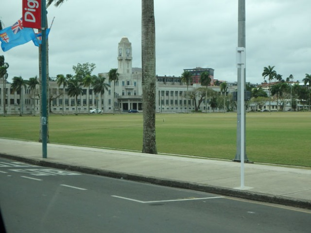 Fiji parliament buildings