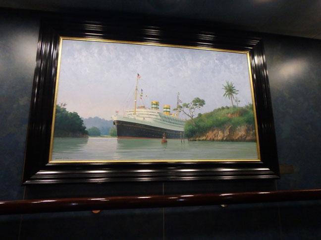 old style cruise ship