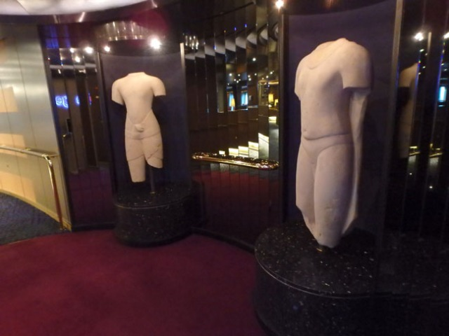 ugly cruise ship statues
