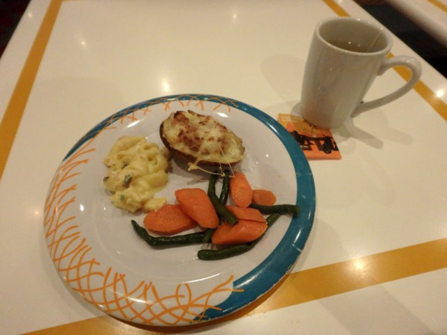 cruise ship buffet food