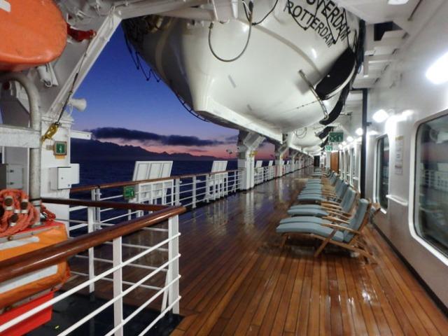 sunrise at sea