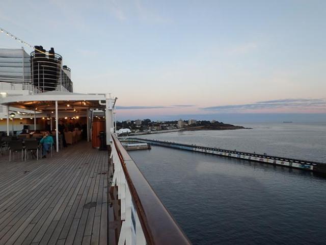 Oosterdam back deck