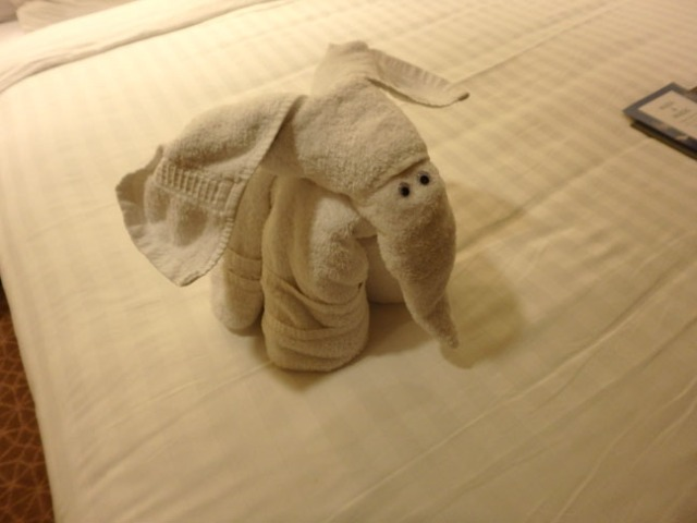 cruise ship towel critter