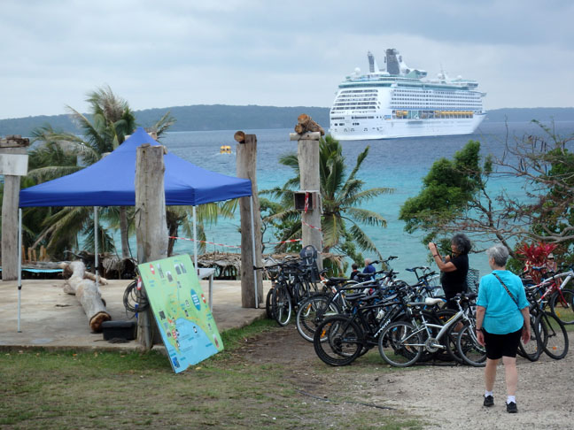 Lifou cruise port