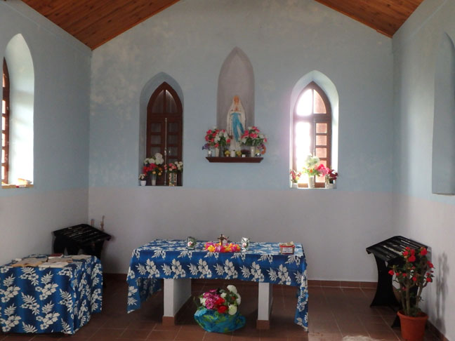 inside old mission church
