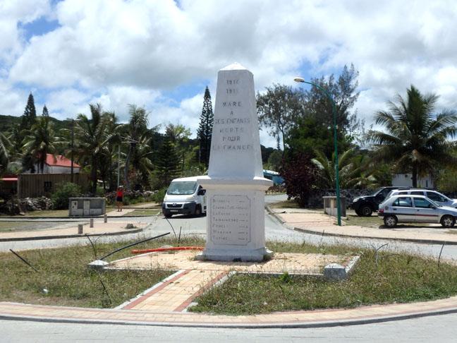 monument on Maré