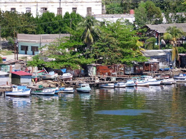 waterfront shacks