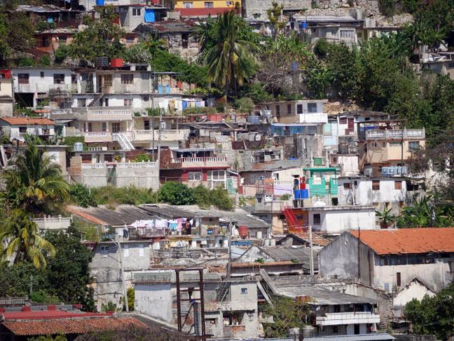 Havana hillside