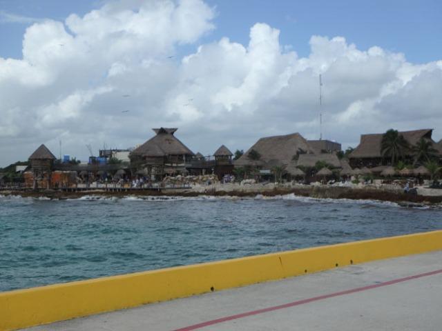 cruise ship dock at Costa Maya
